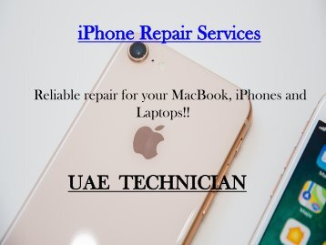 iPhone Repair Services Contact us +971-523252808
