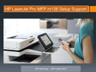 HP laserjet Printer Setup Support number 1877-929-3373
