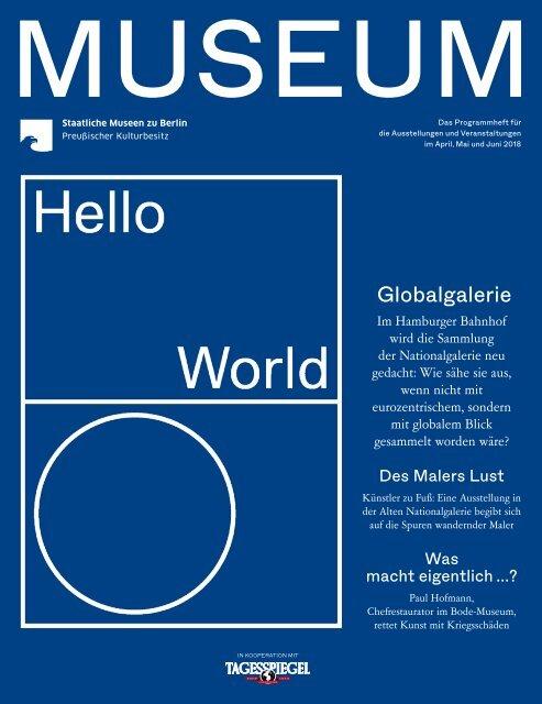 MUSEUM II 2018 - Programmheft der Staatlichen Museen zu Berlin