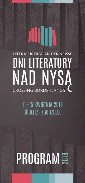 Program Dni Literatury nad Nysą