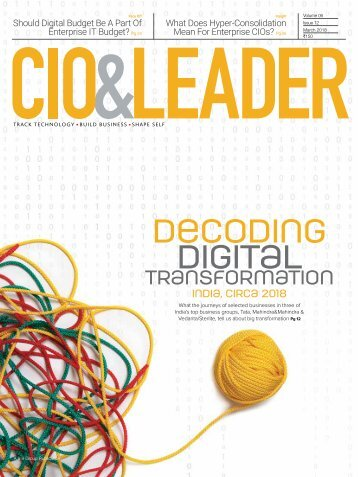 CIO & LEADER-Issue-12-March 2018