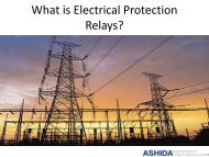What is Electrical Protection Relays
