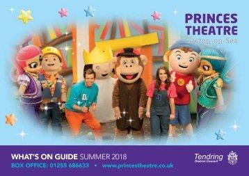 Princes Theatre - Summer 2018 Brochure REDUCED