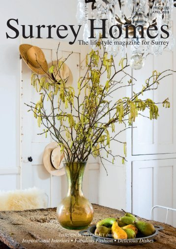Surrey Homes   SH42   April 2018   Garden supplement inside