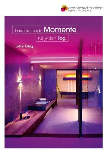 Connected_Comfort_Elektro_Hieber_Alling_Broschüre