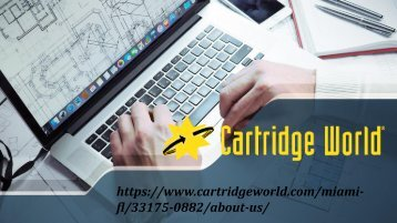 Cartridge Ink Refill Services