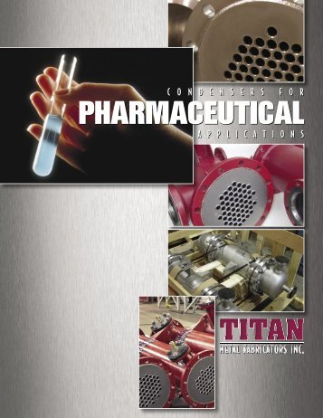 Condensers for Pharmaceutical Applications - Coidan