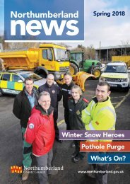 Northumberland News Spring 2018