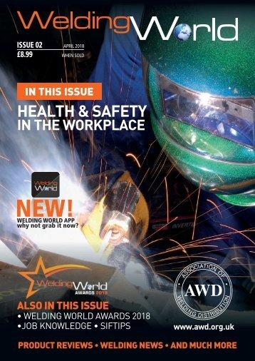 Welding World Magazin April 2018
