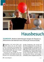 Hausbesuch am Bildschirm - Dr.Hein