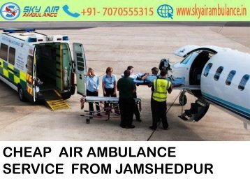Get Sky Air Ambulance Service in Gorakhpur with ICU Facility