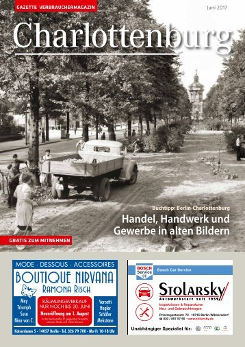 Gazette Charlottenburg Nr. 6/2017