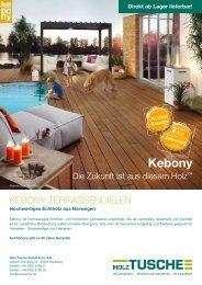 kebony® Terrassendielen