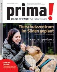 prima! Magazin – Ausgabe Jänner 2018