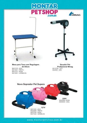 Catálogo Montar PetShop