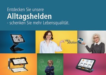 Produktkatalog visuSolution 2018
