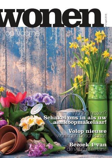 Wonen op Voorne, uitgave april 2018