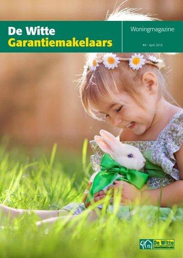 De Witte Garantiemakelaars Woningmagazine, april 2018
