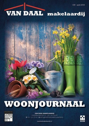 Van Daal Woonjournaal #28, april 2018