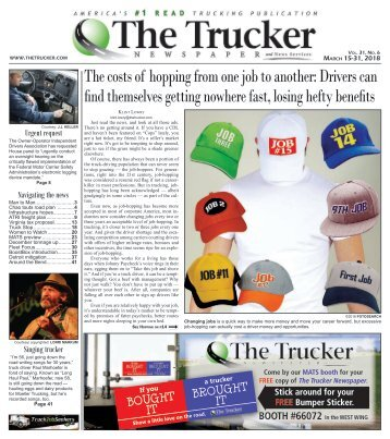 The Trucker Newspaper - March 15, 2018