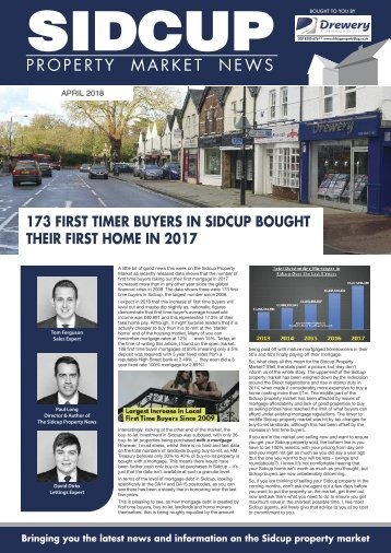 SIDCUP PROPERTY NEWS - APRIL 2018