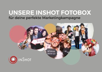 Fotobox / Photobooth für Marketing & Promotion-Kampagnen