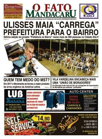 Ed 004 - O Fato Mandacaru - ABRIL 2018 - NÚMERO 4 - 16 pág