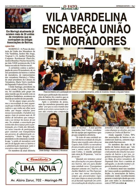 004 - O FATO MANDACARU - ABRIL 2018 - NÚMERO 4
