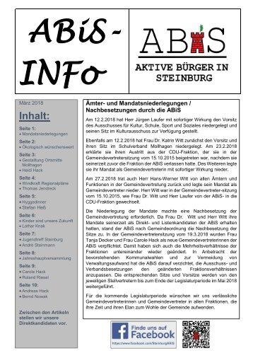 ABIS-INFO März 2018