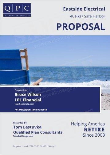 Eastside Electrical Proposal