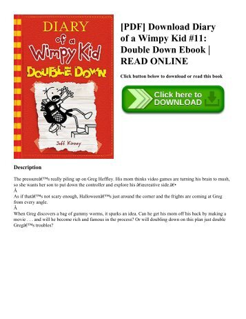 Other books by jeff kinne pdf download diary of a wimpy kid 11 double down ebook solutioingenieria Gallery