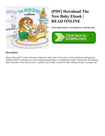 [PDF] Download The New Baby Ebook | READ ONLINE
