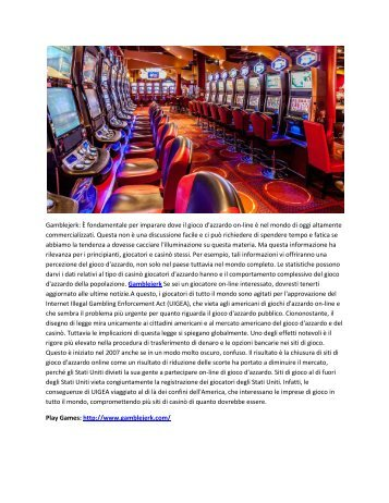 ONLINE GAMBLING & CASINO & OTHER GAMES