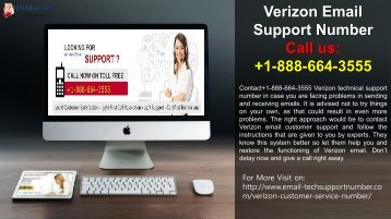 Get +1-888-664-3555 Verizon Email Technical Support Phone Number
