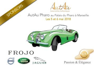 PRESS BOOK AutAu Pharo 2018 sponsors Frojo : Jaguar