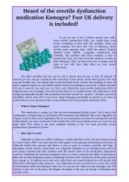 Kamagra - Cheap & Best Treatment of ED