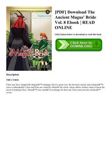 [PDF] Download The Ancient Magus' Bride Vol. 8 Ebook | READ ONLINE