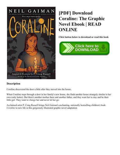 Download coraline ebook neil gaiman