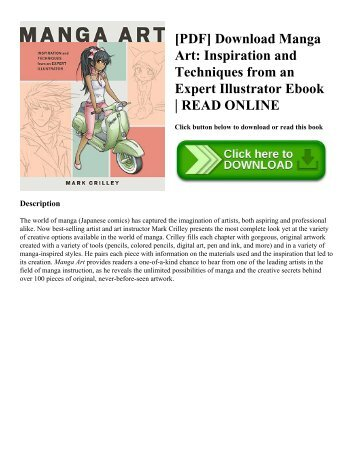 [PDF] Download Manga Art: Inspiration and Techniques from an Expert Illustrator Ebook | READ ONLINE