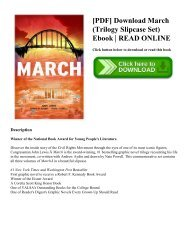 [PDF] Download March (Trilogy Slipcase Set) Ebook | READ ONLINE