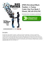 [PDF] Download Black Panther: A Nation Under Our Feet Book 3 Ebook | READ ONLINE
