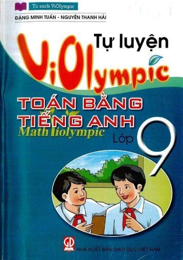 Violympic toán bằng tiếng Anh lớp 9 (2016)