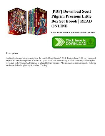 [PDF] Download Scott Pilgrim Precious Little Box Set Ebook | READ ONLINE