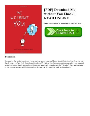 [PDF] Download Me without You Ebook | READ ONLINE