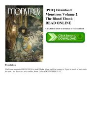 [PDF] Download Monstress Volume 2: The Blood Ebook | READ ONLINE