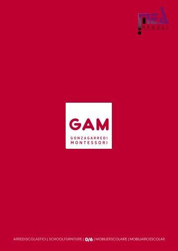 GAM Montessori Möbel