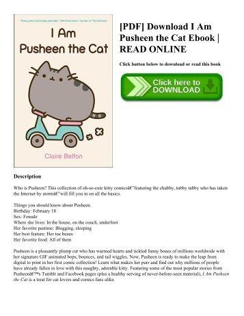 [PDF] Download I Am Pusheen the Cat Ebook | READ ONLINE