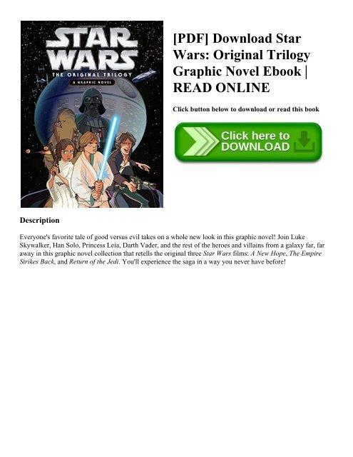 Pdf Download Star Wars Original Trilogy Graphic Novel Ebook Read Online