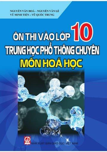 Ôn thi vào 10 THPT chuyên môn Hóa (2015)