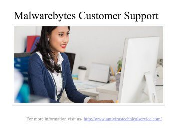 Malwarebytes customer care number